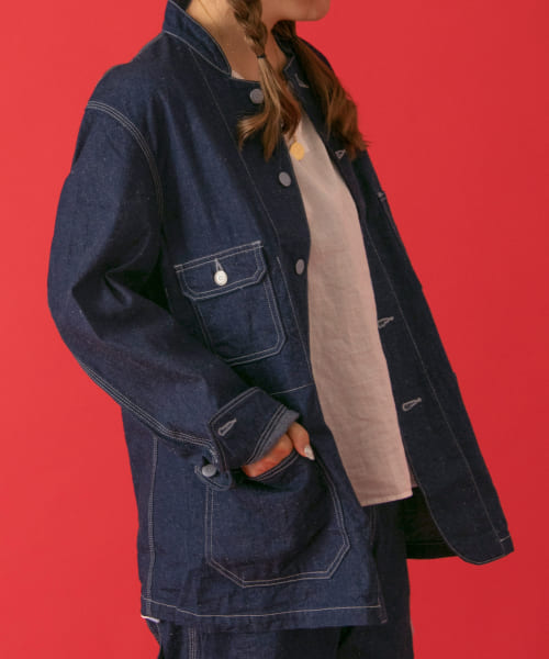 [POP UP SHOP][ordinary fits DENIM COVERALL 3rd/OW]