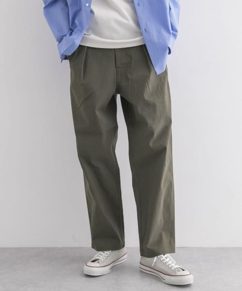 [URBAN RESEARCH][WIDE ST TWILL UTILITY PANTS]