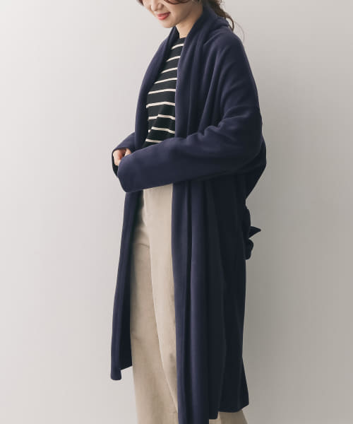 [DOORS][mizuiro-ind long drape cardigan with belt]
