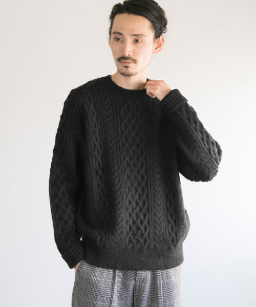 [URBAN RESEARCH][GEOTROWARK×URBAN RESEARCH 別注FISHERMAN KNIT]