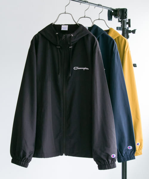 [URBAN RESEARCH][Champion×URBAN RESEARCH 別注撥水ナイロンパーカー]