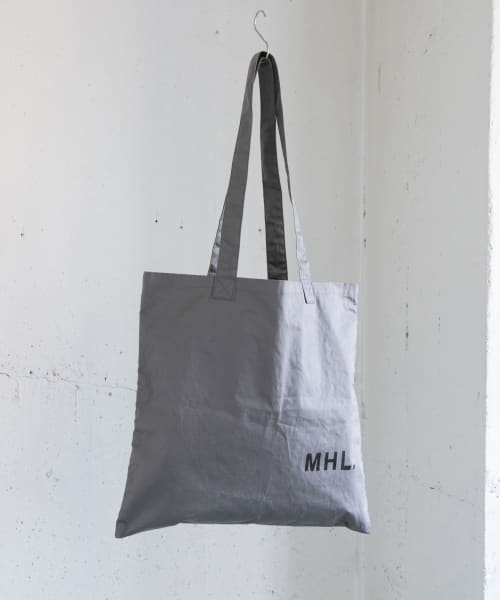 [URBAN RESEARCH][MHL.×URBAN RESEARCH LIGHT COTTON DRILL BAG]