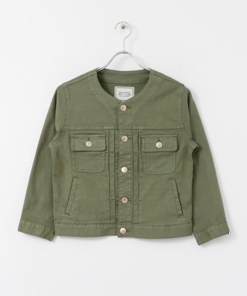[Sonny Label][Moname LIGHT LINEN JACKET]