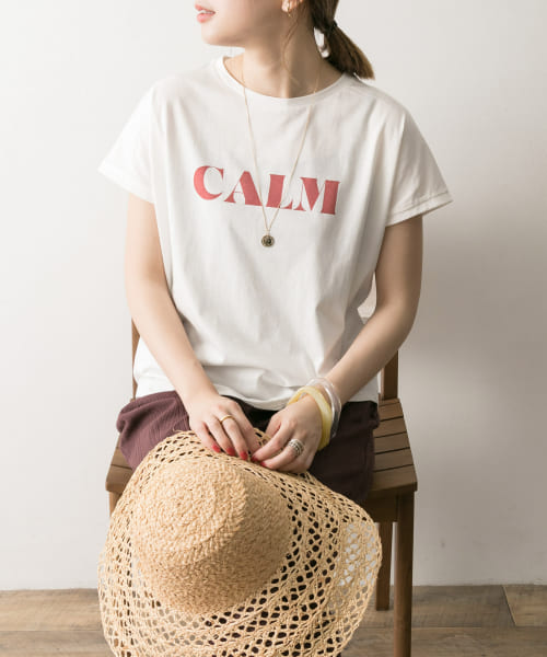 [URBAN RESEARCH][プリントロゴTシャツ]