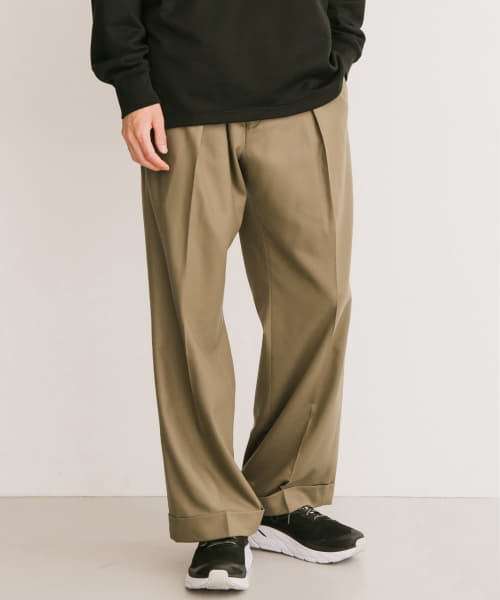 [URBAN RESEARCH][ZUBON ライトフラノ TROUSER]