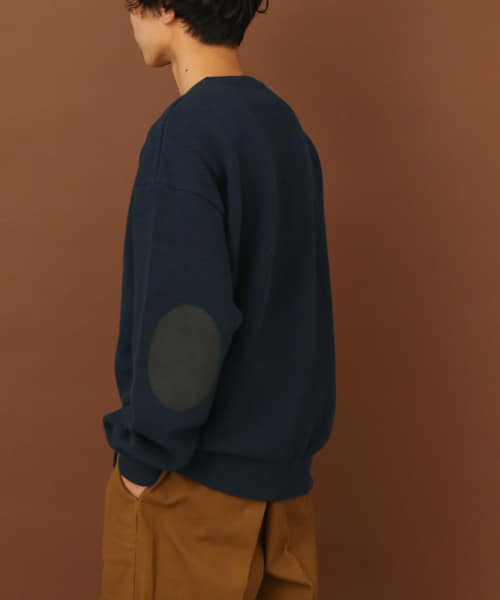 [FORK&SPOON][crepuscule×FORK&SPOON 別注moss stitch pullover]