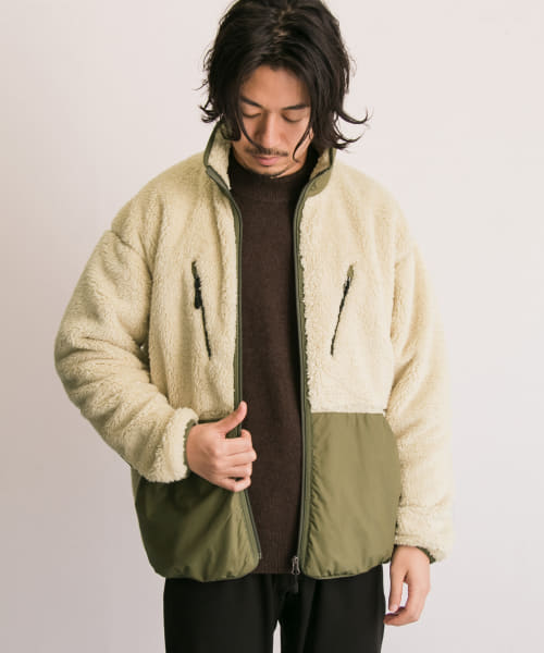 [URBAN RESEARCH][RED SEAM ボアフリース]