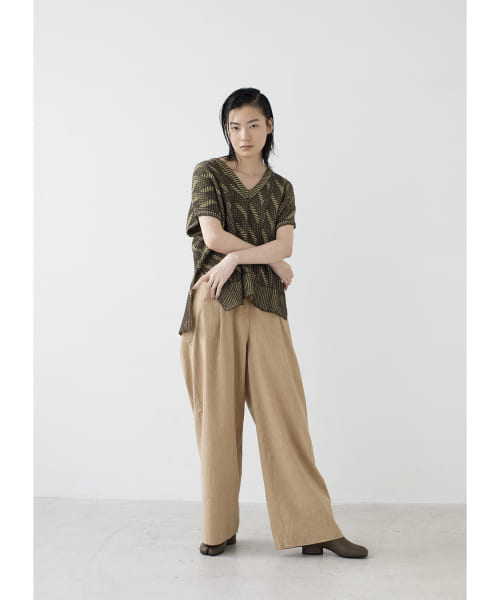 [LAATO][ONE TACK RELAX PANTS]