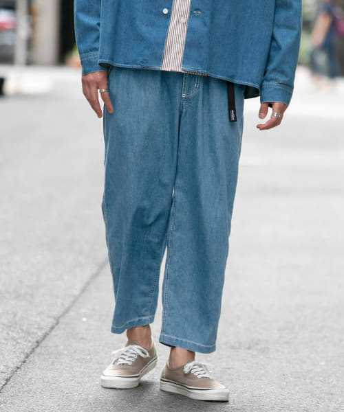[Sonny Label][WILDTHINGS 別注SHELTECH WIDE CROPPED]