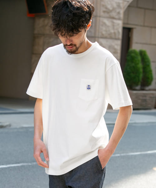 [Sonny Label][【別注】Wrangler×Sonny Label BLUE BELL POCKET-T-SHIRTS]