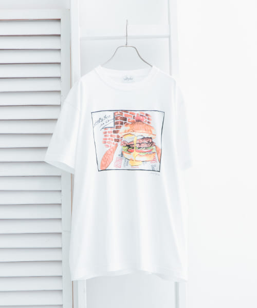 [URBAN RESEARCH][【別注】LeftyArt×URBAN RESEARCH t-shirts hamburger]