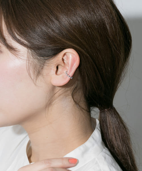 [URBAN RESEARCH][SYMPATHY OF SOUL STYLE Bubble Link Ear Cuff S]