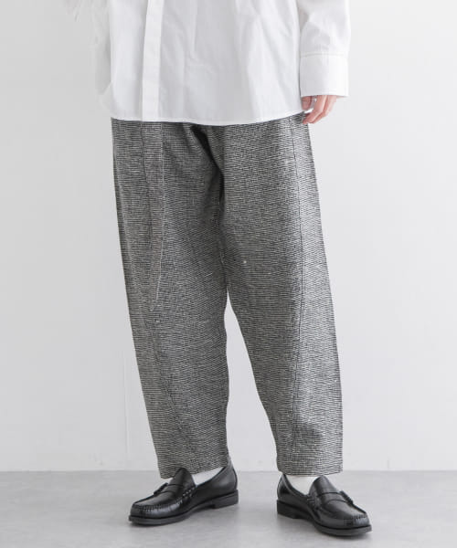 [URBAN RESEARCH][SEEALL TWISTED PANTS]