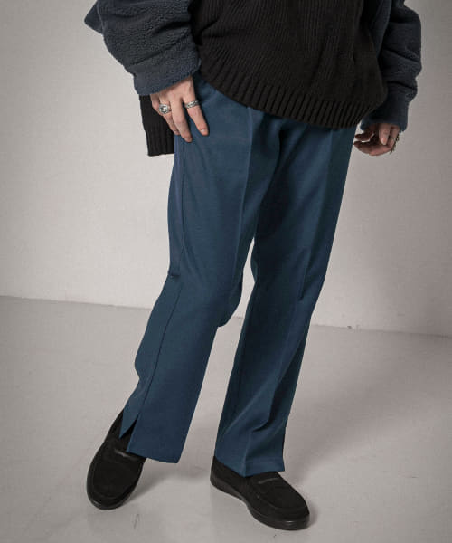 [URBAN RESEARCH][URBAN RESEARCH iD SIDE SLIT PANTS]