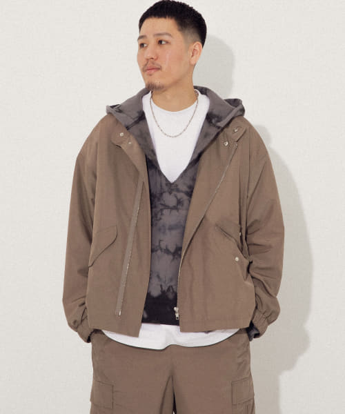 [URBAN RESEARCH][URBAN RESEARCH iD MILITARY TRACK JACKET]