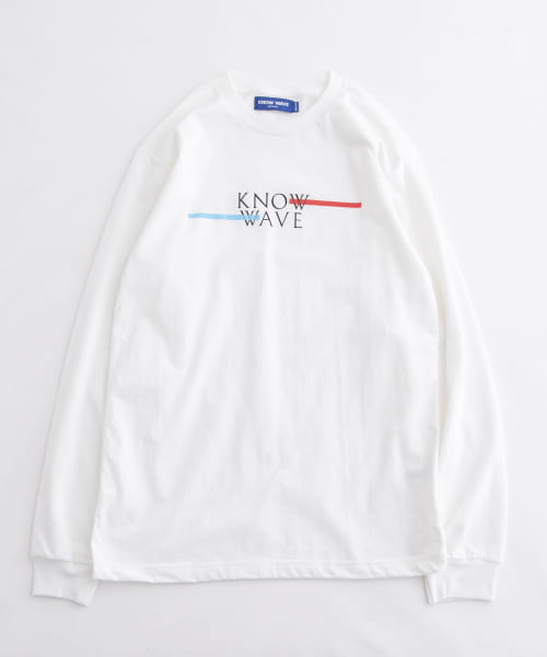 [URBAN RESEARCH][KNOWWAVE CLASSIC SPREAD LONG-SLEEVE T-SHIRTS]