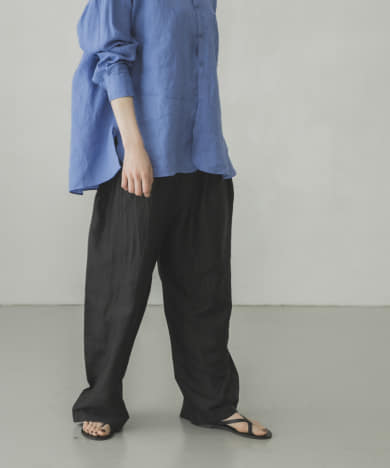 BUNON Wide Belt Pants