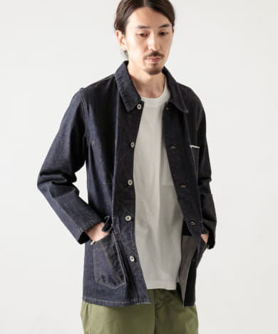 SELVAGE DENIM COVERALL