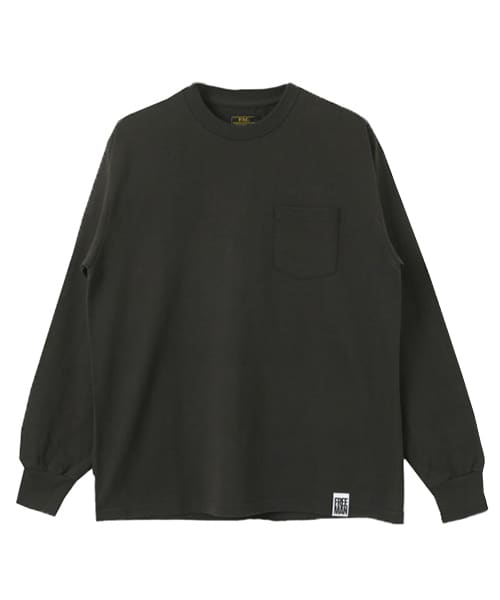 [FREEMANS SPORTING CLUB][FSC 12/-TUBE POCKET LONG-SLEEVE T-SHIRTS]