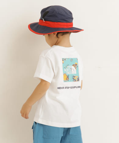 THE NORTH FACE S/S Square Logo Joshua T(KIDS)