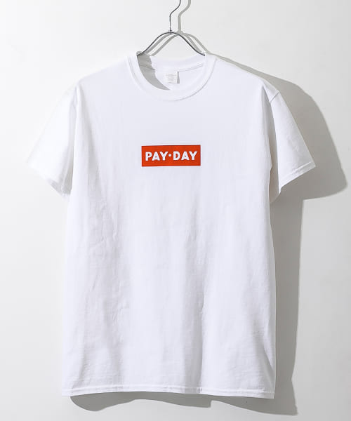 [ROSSO][PAY-DAY 別注BOXロゴTシャツ]