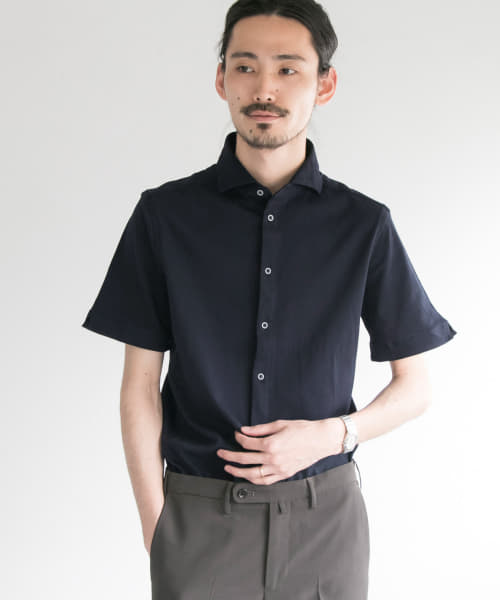 [URBAN RESEARCH][URBAN RESEARCH Tailor COTTON PIQUE JERSEY S/S]