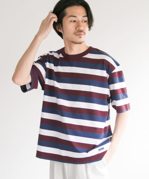 [URBAN RESEARCH][Armor lux×URBAN RESEARCH TRICOLORE T-SHIRTS]