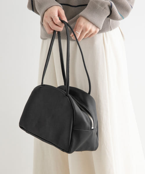 [FORK&SPOON][MORMYRUS GLOSS LEATHER TOTE]