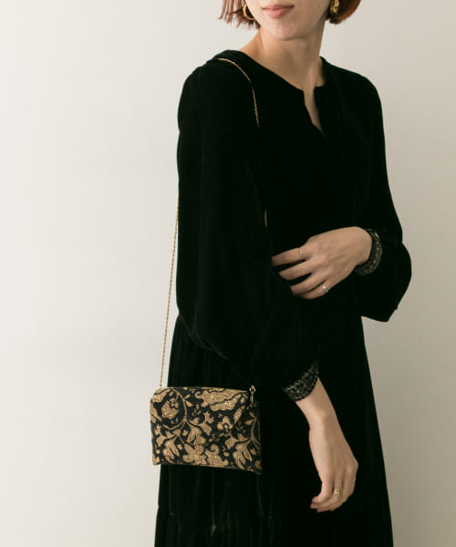 [URBAN RESEARCH][ne Quittez pas JQ CHAINSHOULDER POCHETTE]