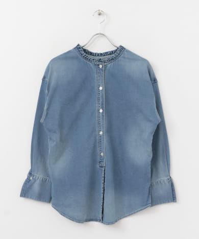 Moname 3WAY BLOUSE DENIM