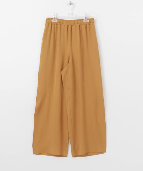 [LAATO][SIDE DEEP SLIT PANTS]
