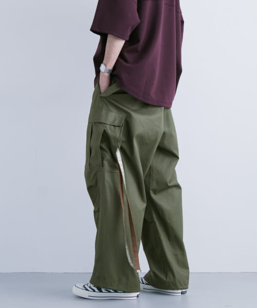 [URBAN RESEARCH][is-ness WIDE 6PK PANTS]