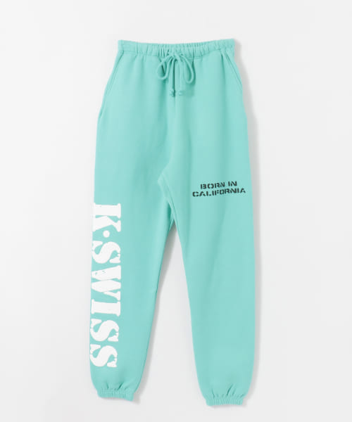 [URBAN RESEARCH][WILLY CHAVARRIA×K・SWISS BAD BOY SWEAT PANTS]