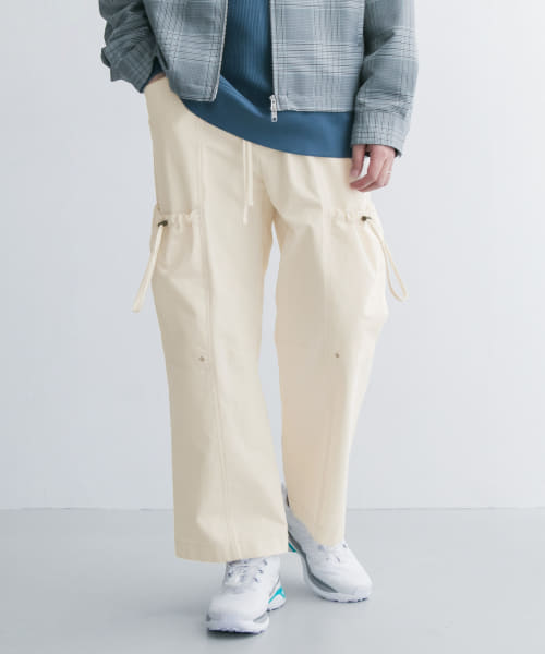 [URBAN RESEARCH][KINDAGARDEN STRING DETAIL COTTON PANTS]