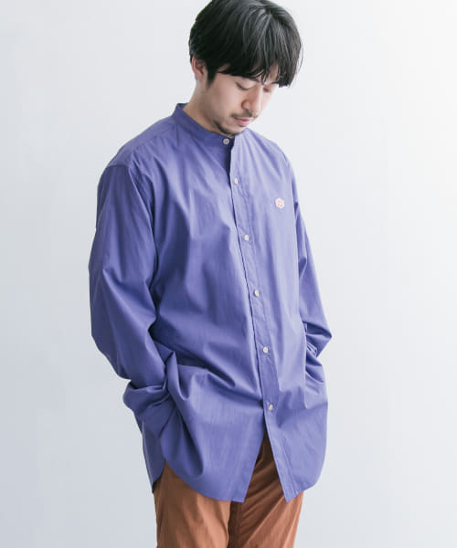 [URBAN RESEARCH][Vincent et Mireille BAND COLLAR SHIRTS]