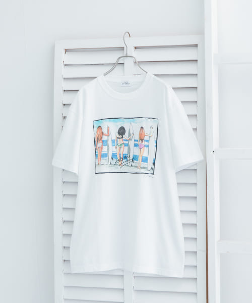 [URBAN RESEARCH][【別注】LeftyArt×URBAN RESEARCH t-shirts surfmate]