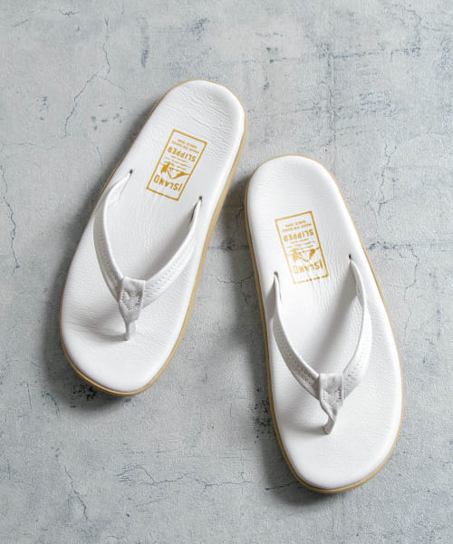 [URBAN RESEARCH][【別注】ISLAND SLIPPER×URBAN RESEARCH ナロートングサンダル]