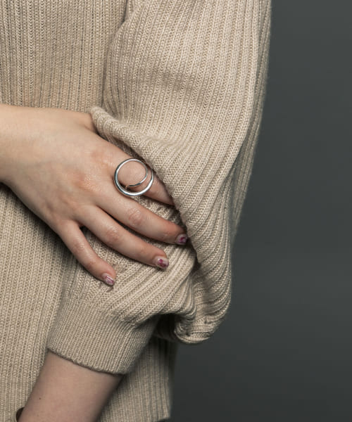 [URBAN RESEARCH][decor Double Ring]
