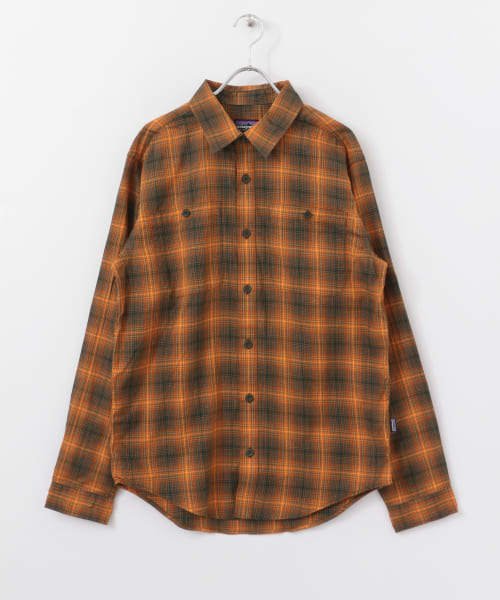 [DOORS][patagonia Ms Long-sleeve Pima Cotton Shirts ]