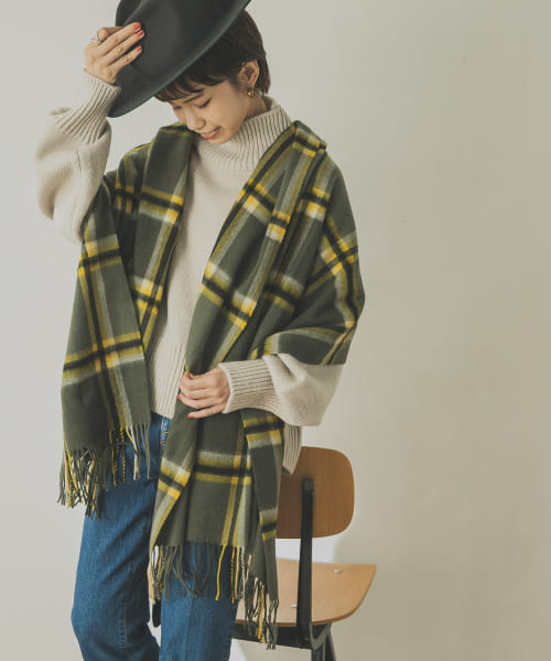 [URBAN RESEARCH][TWEED MILL Lambswool Stole]