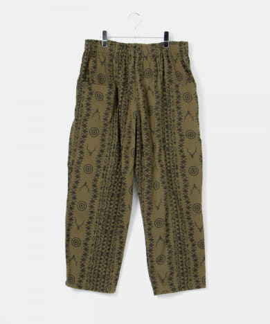 South2 West8 army string pants(flannel)