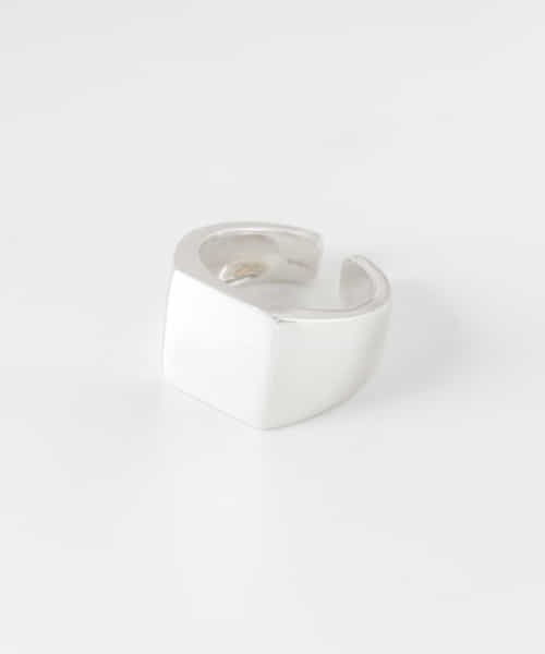[URBAN RESEARCH][URBAN RESEARCH iD SQUARE silver ring]