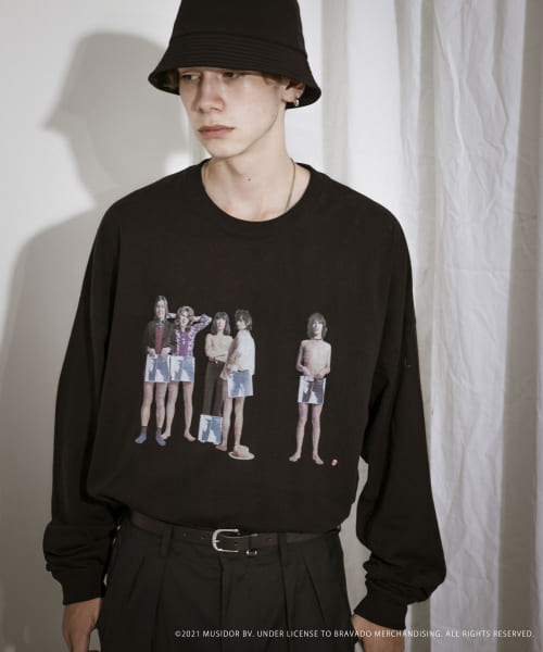 [URBAN RESEARCH][URBAN RESEARCH iD ROLLING STONES LONG-SLEEVE]