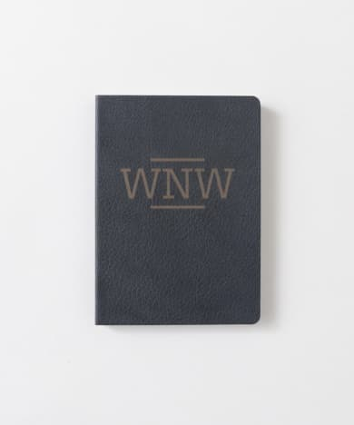 A6 WNW LEATHER NOTE