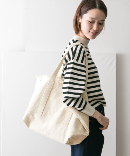 [URBAN RESEARCH][キャンバスフリンジビッグトート]