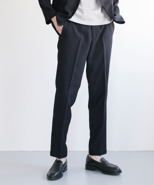[URBAN RESEARCH][WASHABLE TROPICAL PANTS]