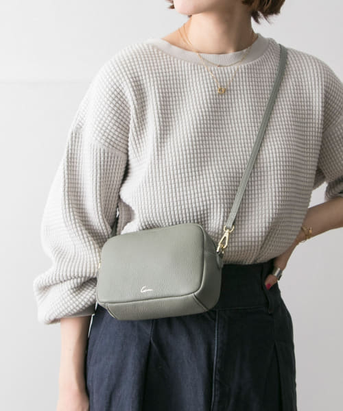 [URBAN RESEARCH][SMIR NASLI Gem.×URBAN RESEARCH 別注LeatherMiniBag]