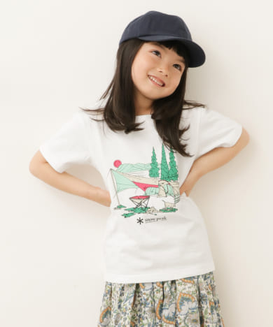 snow peak apparel×DOORS 別注Entry Camping Tee(KIDS)