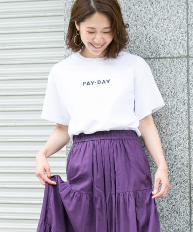 F by ROSSO PAY-DAY 別注ロゴTシャツ