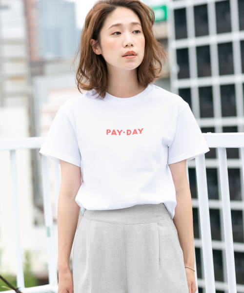 [ROSSO][F by ROSSO PAY-DAY 別注ロゴTシャツ]